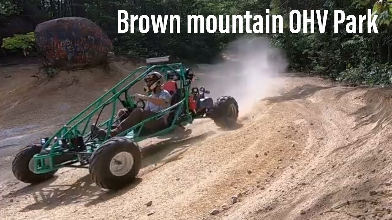 Taking The Dual Engine Go Kart Off Road