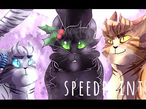 Warrior cats speedpaint power of three youtube The three cats