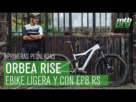 Nueva Orbea Rise: una e-bike ultraligera y con Shimano EP8 RS ¡Al detalle!