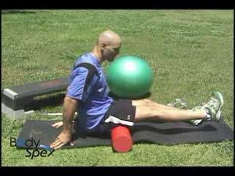 Hamstring myofascial release: BodySpex fitness with Jai ...