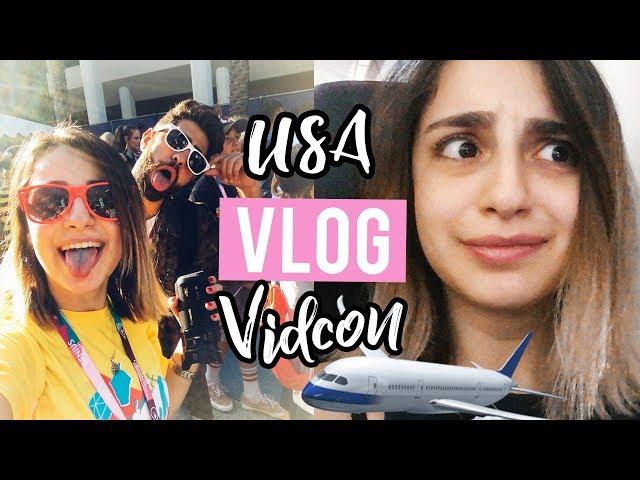 USA VLOG: Vidcon 2018 / Marshmello CONCERT????