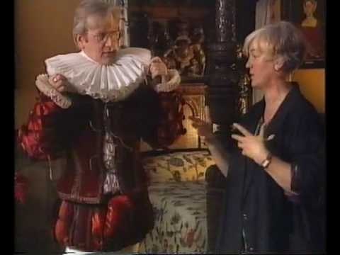 Deirdre Clancy interviewed about Shakespearean costume by David Stafford