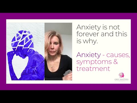 Anxiety is not forever - causes, symptoms & relief of anxiety