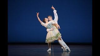 Coppélia pas de deux: Emilia Cadorin and Rhys Antoni Yeomans | English National Ballet