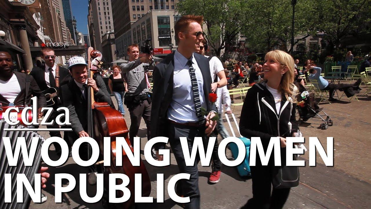 Wooing Women in Public