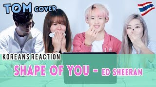 [Korean Reaction] SHAPE OF YOU - Ed Sheeran cover by Tom Room39