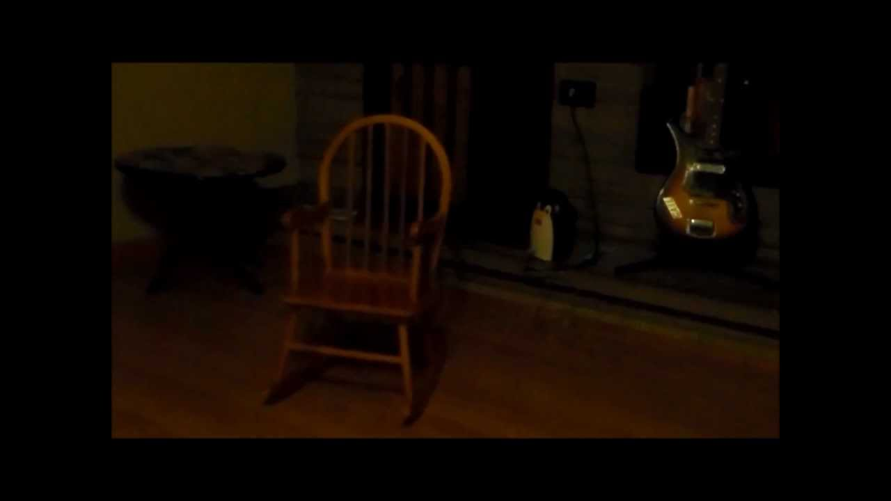 Paranormal Evidence Caught In Tape Rocking Chair Rocks By