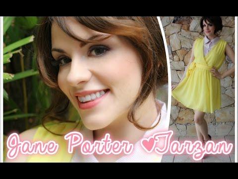 Jane Porter (Tarzan) ♥ Get The Look | Look + Tutorial | Mari Santarem