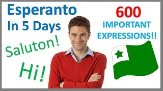 Learn Esperanto in 5 Days - Conversation for Beginners