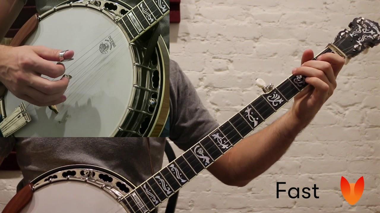 I - V Chord Lick #4 (Drop C) Banjo