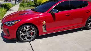 2018 Kia stinger customized inside