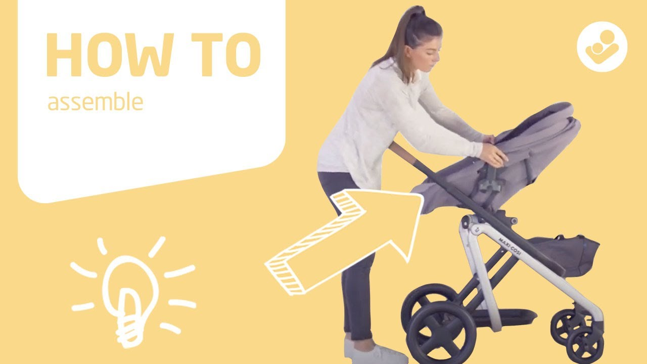 Babyone Baby Jogger Maxi Cosi Lila Stroller How To Assemble