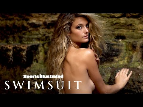 Kate Bock Takes Gold To The Next Level In Mexico | Intimates | Sports Illustrated Swimsuit