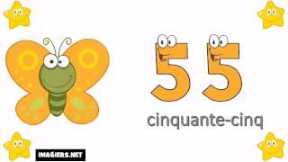 învăța limba franceză # Numerele la 0 la 100