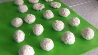 Низкокалорийное печенье из овсяных хлопьев с творогом