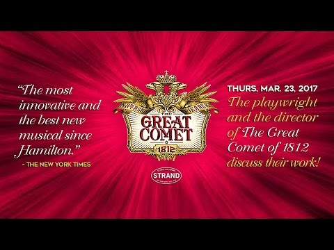 Dave Malloy and Rachel Chavkin: The Great Comet