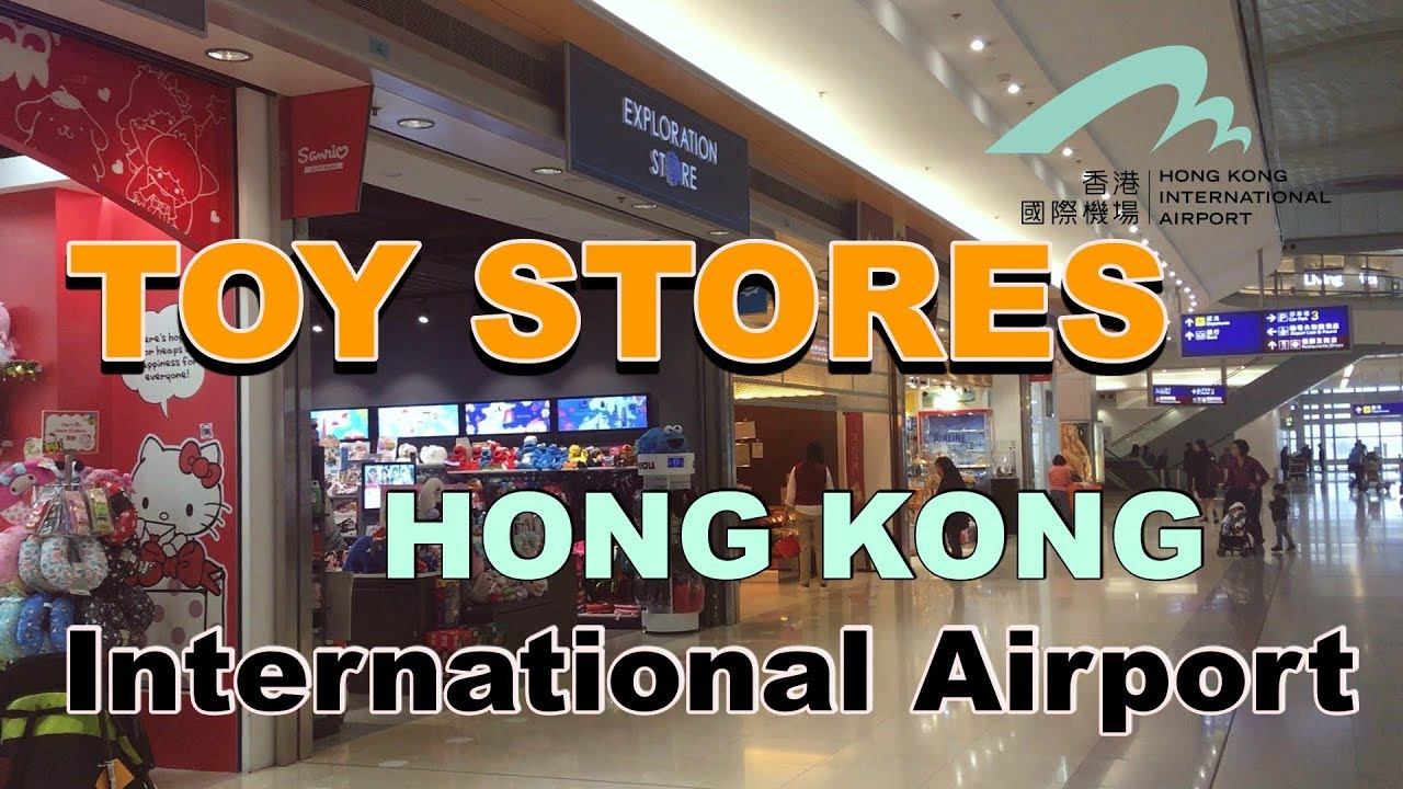 Toy Stores Inside Hong Kong International Airport Youtube