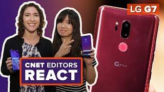 LG G7: CNET Editors react