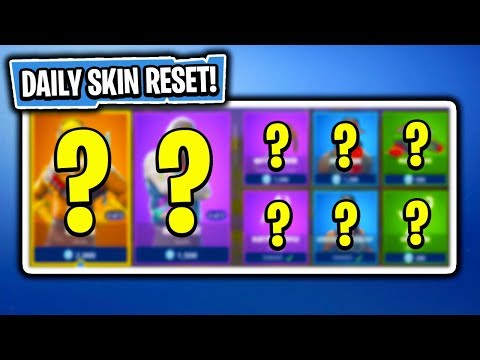 Daily & Featured Item Shop In Fortnite: Battle Royale! (Skin Reset #161)