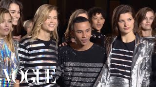 Olivier Rousteing Imagines Balmain in 2050 | Vogue thumbnail