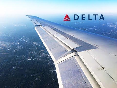 Delta Air Lines McDonnell Douglas MD-90 Minneapolis to Atlanta FULL FLIGHT