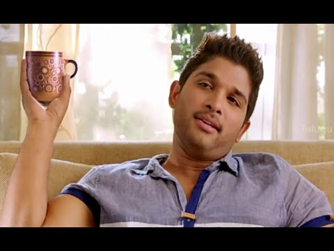 Allu Arjun making fun of Shaam - Race Gurram Movie Comedy Scenes - Shruti Hassan