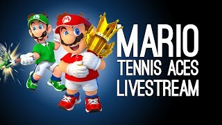 Mario Tennis Gameplay: 90 Minutes of Mario Tennis Aces With Outside Xtra & Outside Xbox @ Server
