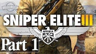 Sniper Elite 3 Walkthrough - Part 1 Mission 1 - 1080p PC Gameplay (Single Player)
