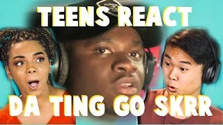Teens React to 'THE TING GOES SKRRRA' (MAN'S NOT HOT) - Fire In The Booth