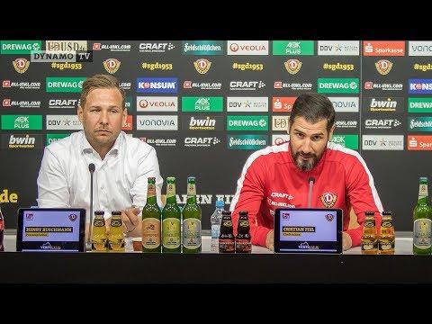 29. Spieltag | SVS - SGD | Pressekonferenz vor dem Spiel