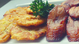 How To Fry Plantain (Ripe & Green) | Detailed Video | Lesson #22 | Morris Time Cooking