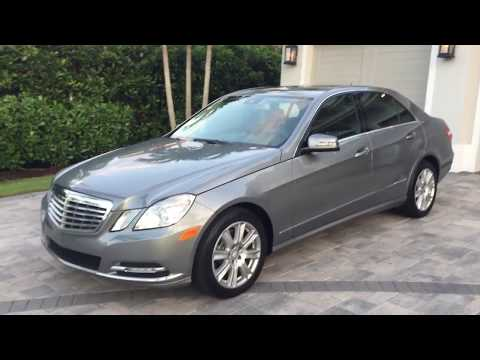 2013 Mercedes Benz E350 Sedan Review and Test Drive by Bill - Auto Europa Naples