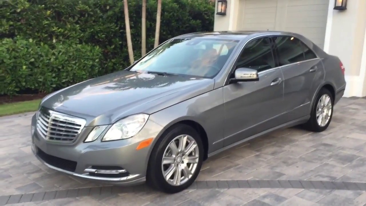 2013 Mercedes Benz E350 Sedan Review and Test Drive by ...