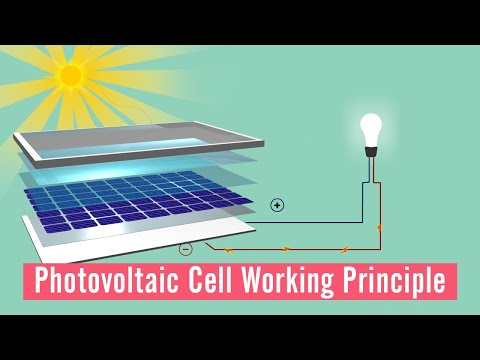How do Solar cells work? | pn junction solar cell  | Solar energy
