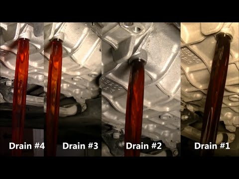 Hyundai Sonata 2011 Automatic Transmission Fluid ATF Fourth Fluid Drain And Fill Part #4