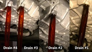 Hyundai Sonata 2011 Automatic Transmission Fluid  ATF Fourth Fluid Drain And Fill Part #4