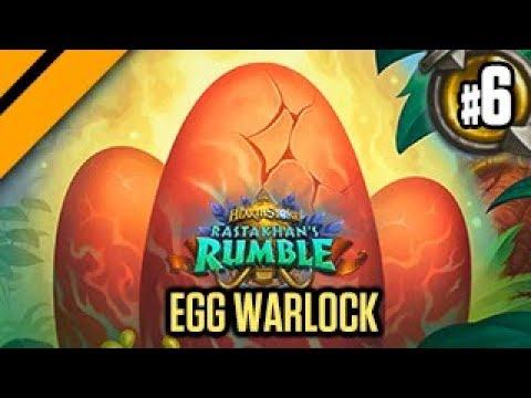 Hearthstone Rastakhan Release - Egg Warlock P6