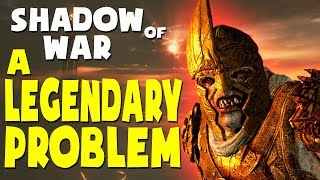 Middle Earth: Shadow of War Funny Moments - A LEGENDARY PROBLEM (Gravewalker Difficulty)