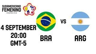 Brazil v Argentina - Final - Full Game - South American Womens Championship 2018
