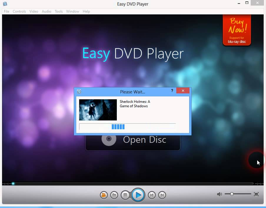 Easy DVD Player - Video Player Software - 33% off for PC