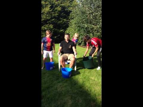 Derek McInnes ice bucket challenge