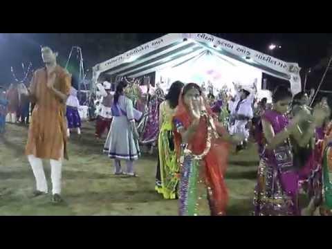 Live Navratri Non Stop Garba Song at Lions Club Gandhinagar Gujarat Part   1