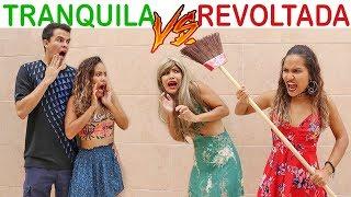 NAMORADA TRANQUILA VS NAMORADA REVOLTADA! - KIDS FUN
