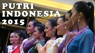 Putri indonesia 2015 fashion show living world part 1 update