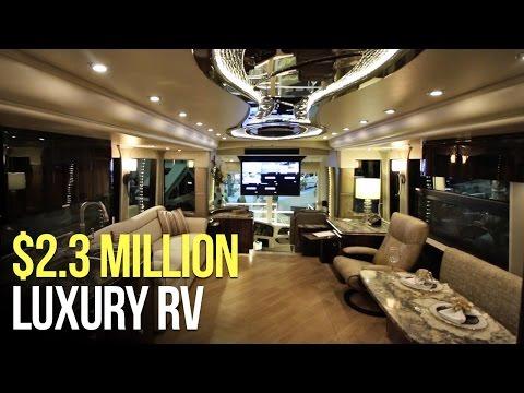 2 8 million dollar rv tour 2018 marathon prevost mot for Million dollar motor homes