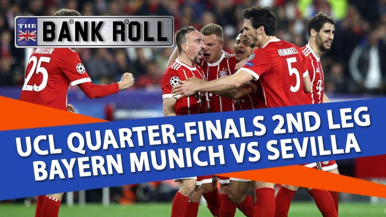 Bayern Munich vs Sevilla | Champions League Football ...