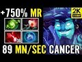 WTF Is This?? 750% Regen +89Mana/s ABED Dota 2 Storm Spirit Carry Nuker