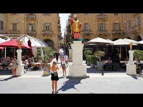 Valletta, Malta (Full HD)