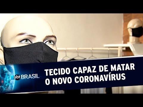 Máscara Infantil Antiviral