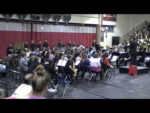 Conner Middle School Symphonic Band-Synergies (2013 Spring Concert)